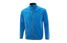 Mizuno Men's Impermalite Jacket blue/blazing yellow
